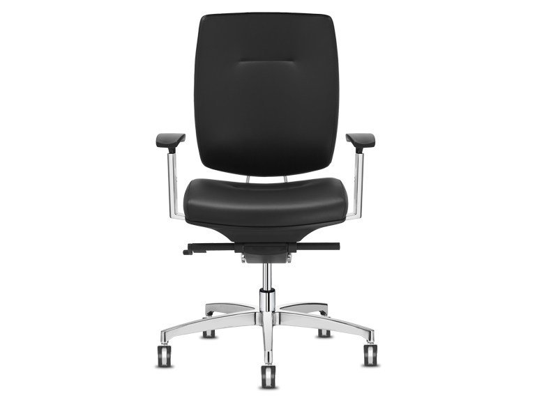 Task chair with 5-Spoke base with casters SPIRIT | Task chair with casters by SitLand