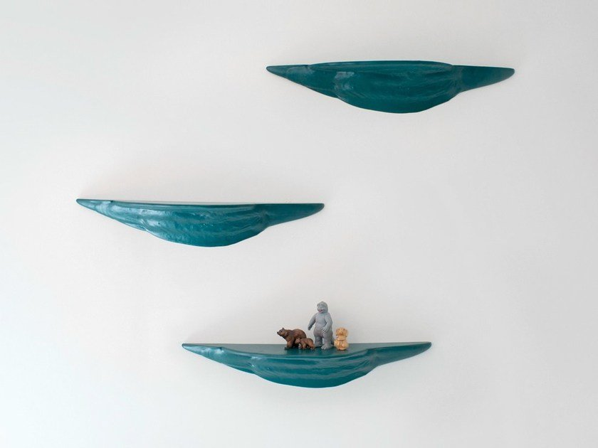 Ceramic wall shelf MOUSSE by Moustache