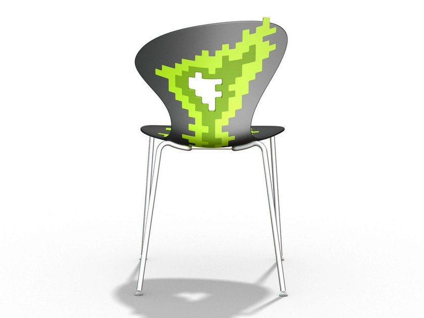 Technopolymer chair BIG BANG by GABER