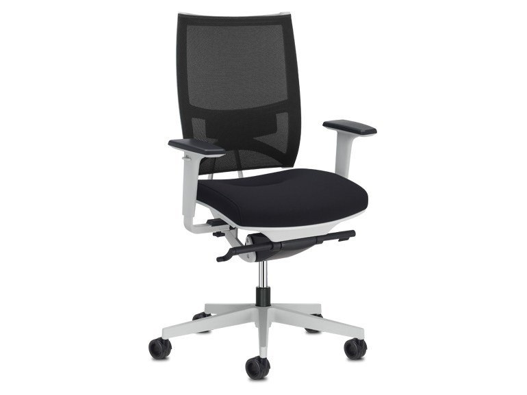 Task chair with 5-Spoke base with casters SPIRIT AIR | Task chair with casters by SitLand