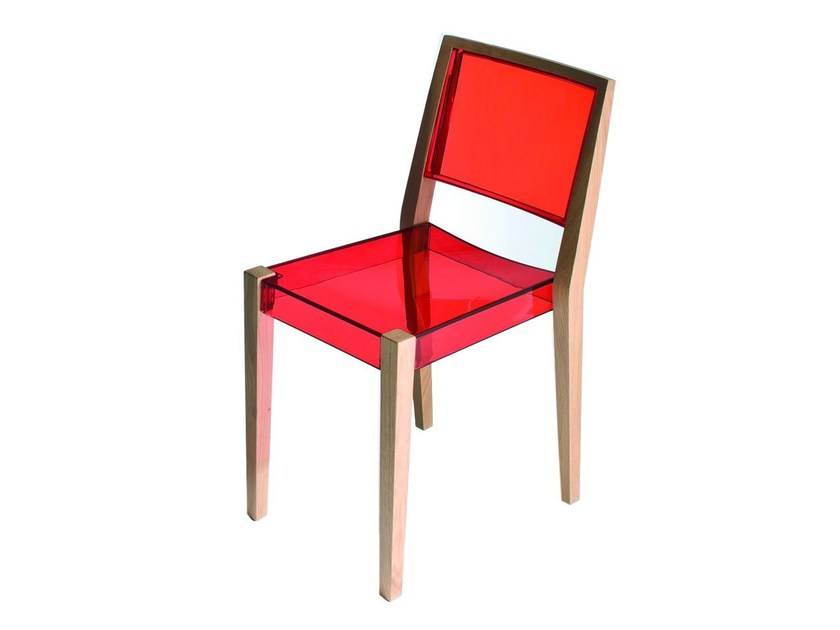 Technopolymer chair TOGETHER | Chair by GABER