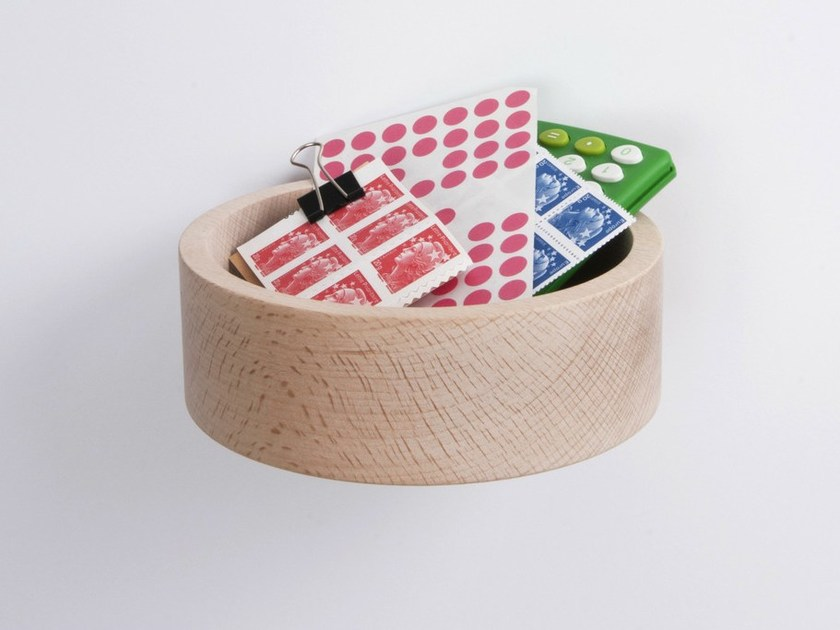 Beech pin tray BÉNITIER | Beech pin tray by Moustache