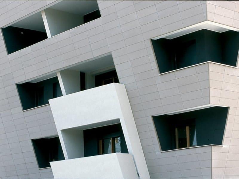 Fiber cement Continuous facade system PIZ by PIZ