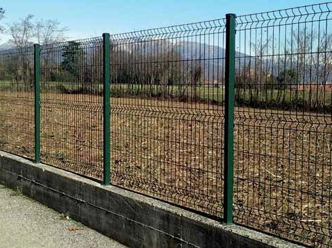 Electrically welded mesh Fence EASY by GRIDIRON GRIGLIATI