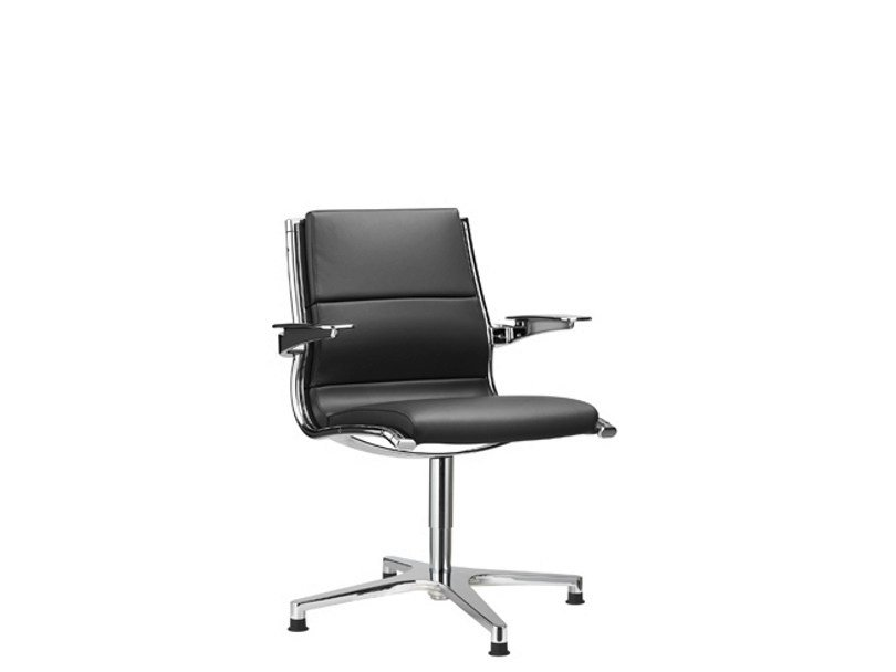 Task chair with 4-Spoke base with armrests SIT.IT CLASSIC | Task chair with 4-Spoke base by SitLand