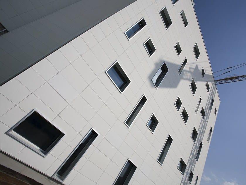 Fiber cement Continuous facade system PIZ Intelligent Surface by PIZ