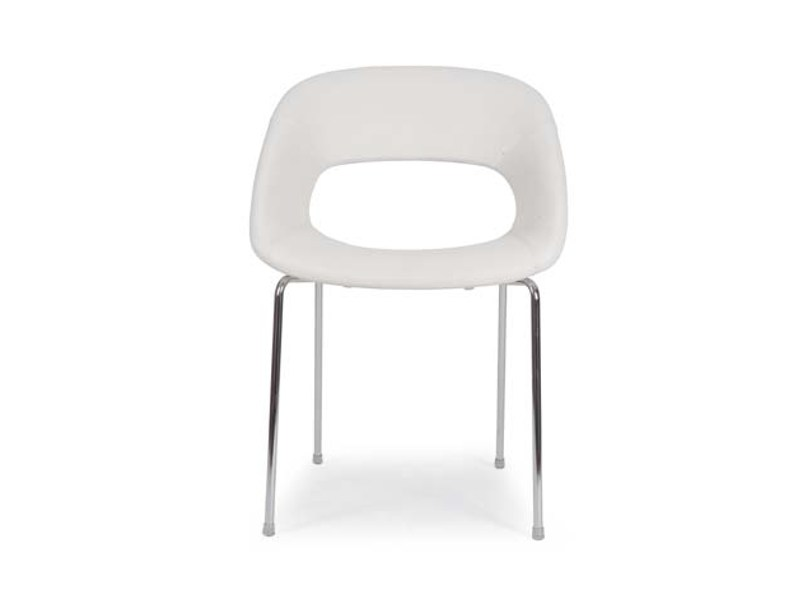 Upholstered polyurethane chair AREA VIP QUATTRO by Riccardo Rivoli