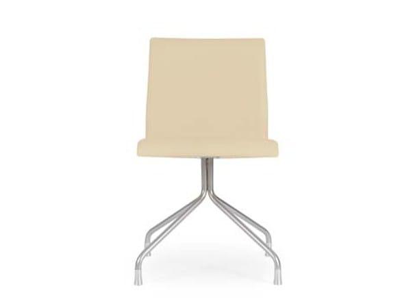 Trestle-based fabric chair MARS STOFFA by Riccardo Rivoli