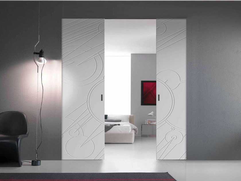 Pocket sliding door WALLDOOR | Pocket sliding door by Bertolotto Porte
