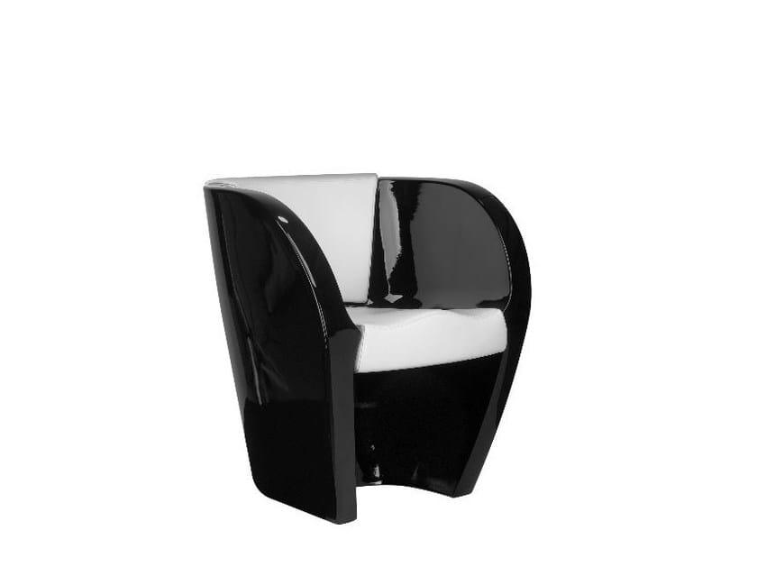 Polyethylene armchair CUP   Armchair by SitLand