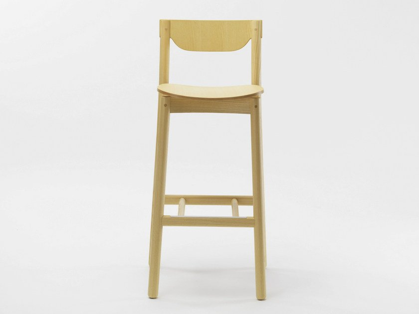 Wooden stool NICO | Stool by Zilio A&C