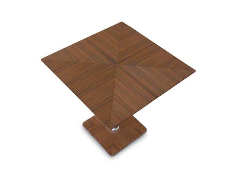 Square wooden table IL VIAGGIATORE by Riccardo Rivoli