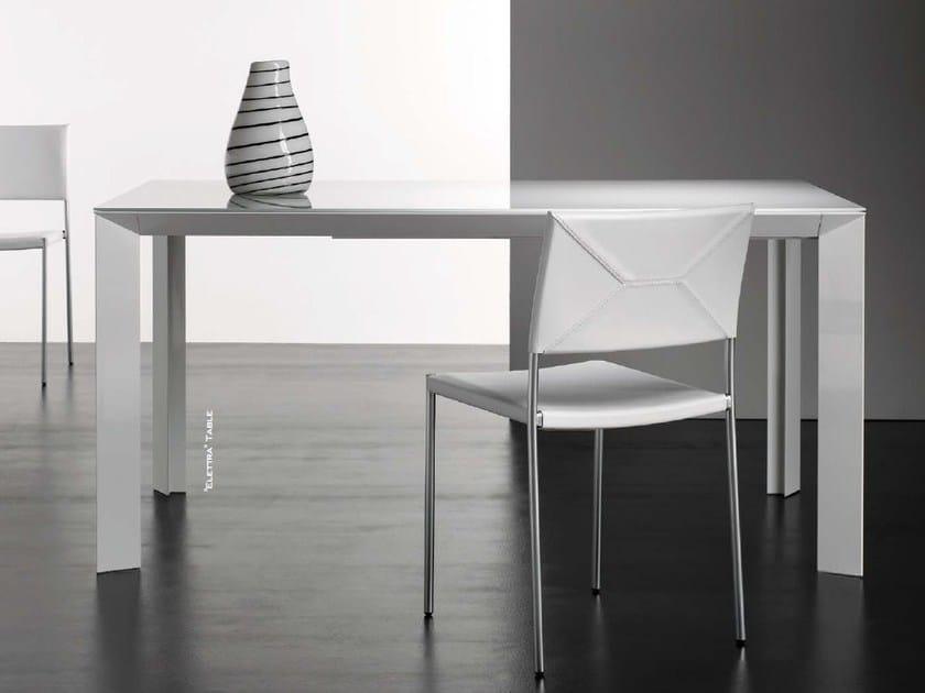 Extending rectangular table ELETTRA by Riccardo Rivoli