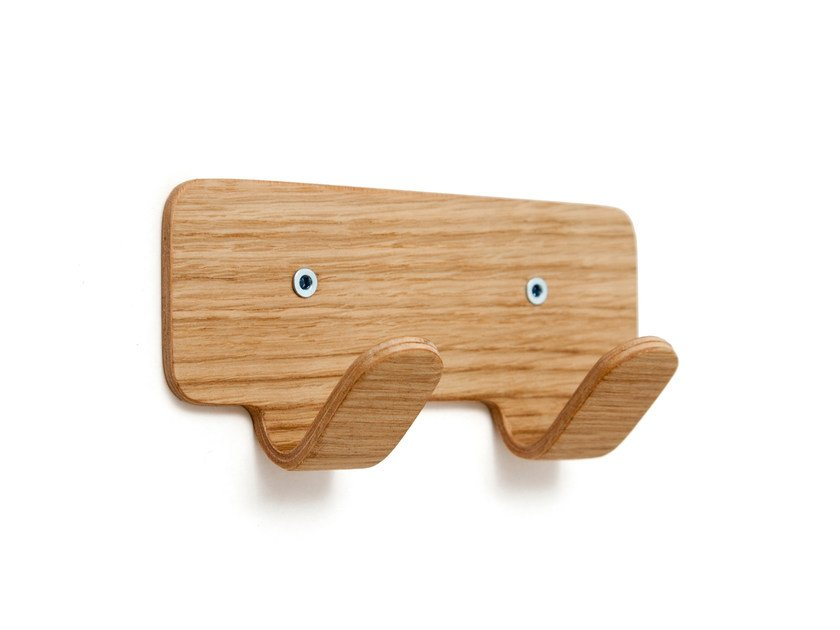 Oak robe hook JR. WOOD | Robe hook by Inno