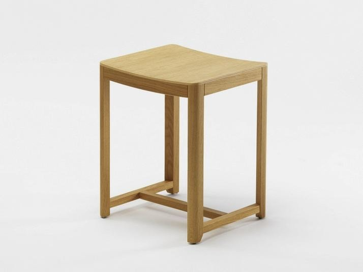 Wooden stool SELERI | Low stool by Zilio A&C