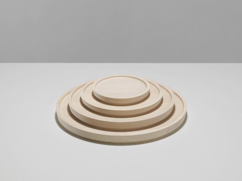 Wooden tray MARU by Zilio A&C