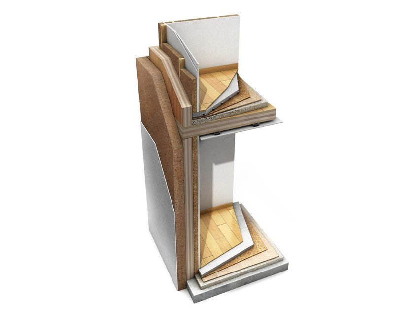Pareti in legno a pannello (x-lam)