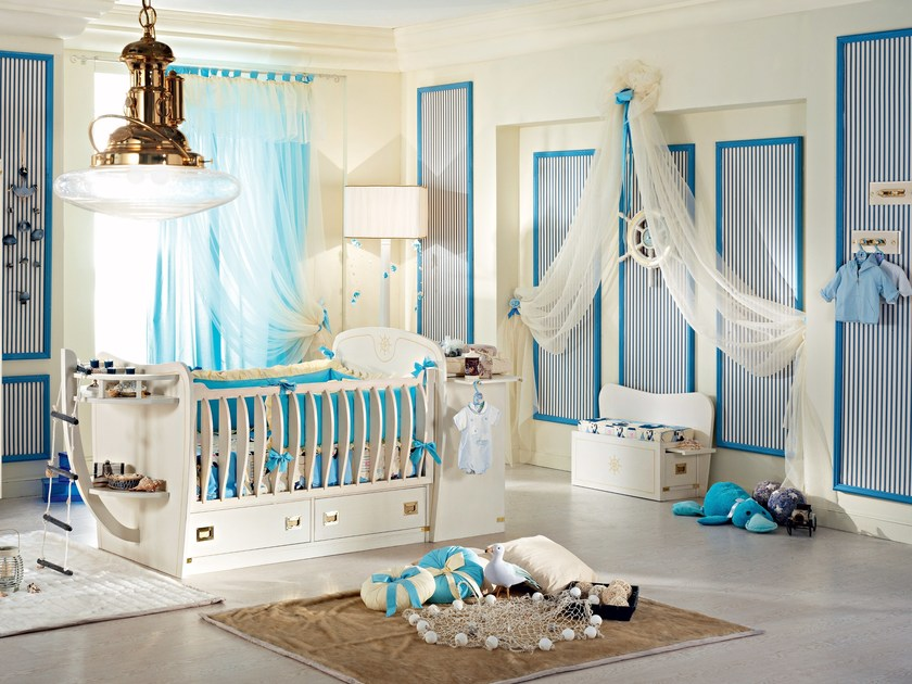 Fitted wooden baby's room PASSEPARTOUT BABY by Caroti