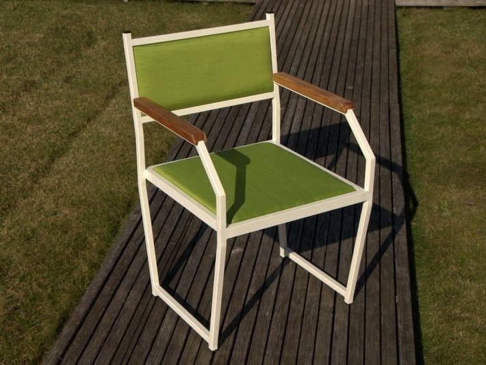 Sedia Imbottita Con Braccioli : Sedia imbottita con braccioli marin sedia imbottita lgtek outdoor