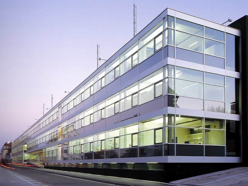 Continuous facade system WICTEC by WICONA