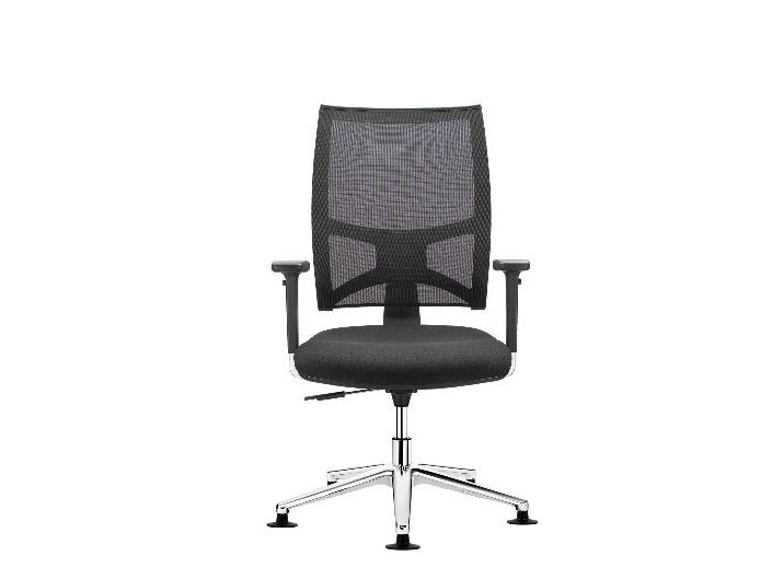Task chair with 5-Spoke base TEAM AIR | Task chair with armrests by SitLand