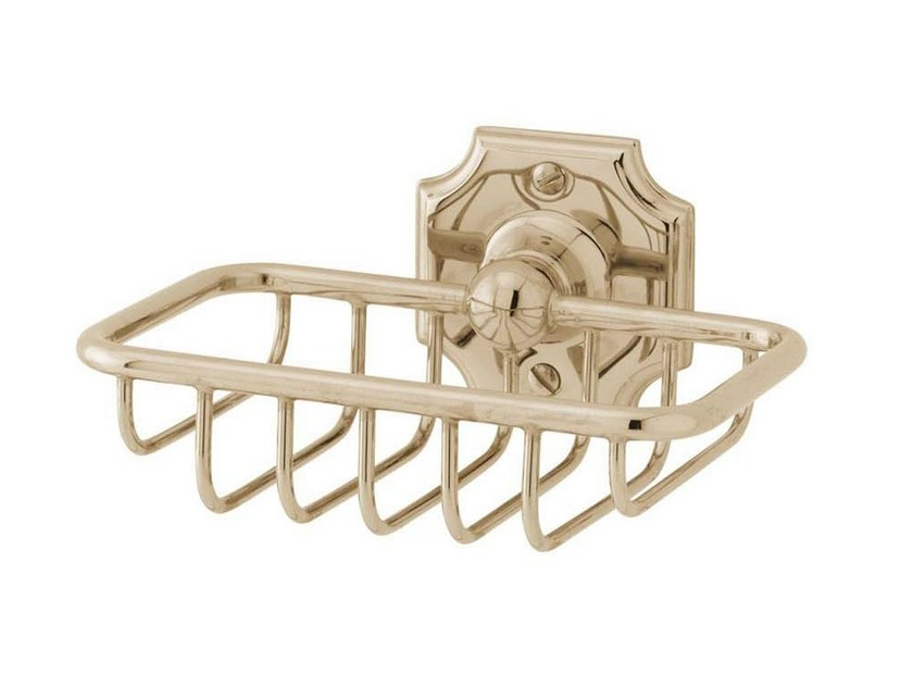 Wall-mounted soap dish for shower REGENT | small soap basket by GENTRY HOME