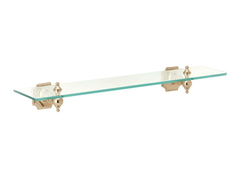Glass bathroom wall shelf REGENT | bathroom glass shelf by GENTRY HOME