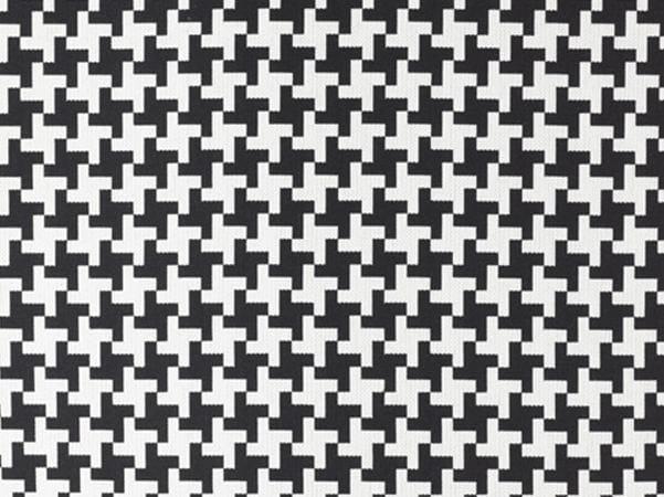 Reversible fire retardant washable Trevira® CS fabric POULETTE by Dedar
