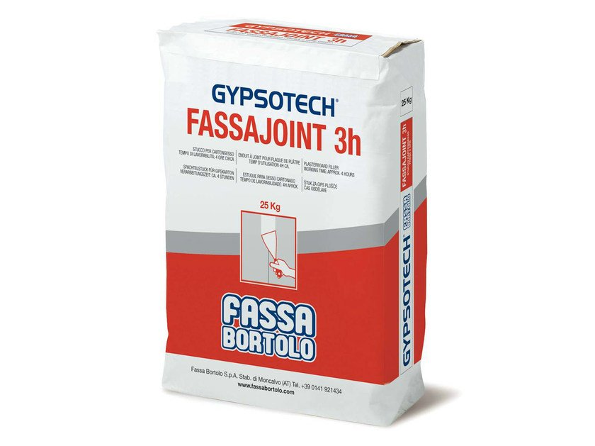 FASSAJOINT 3H Gesso e stucco decorativo