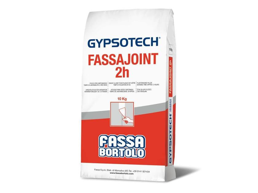 Plasterboard joint filler FASSAJOINT 2H by FASSA