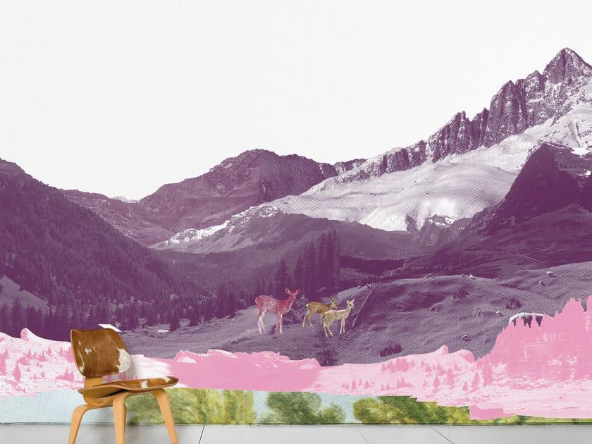 Landscape wallpaper MONT ROSE by Moustache