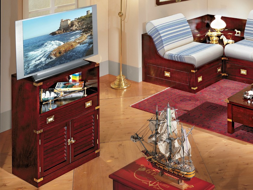 Wooden TV cabinet 610 | Wooden TV cabinet by Caroti