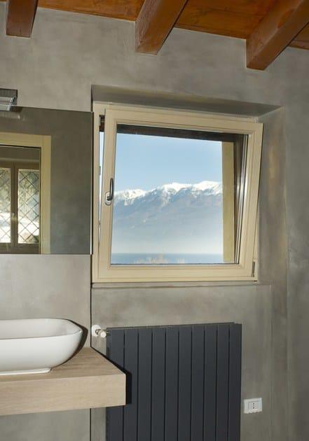 Finestra a battente a taglio termico in alluminio e legno for Finestre a taglio termico prezzi