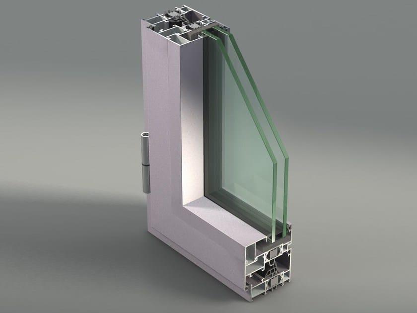 Aluminium casement window NC 65 STH-i by METRA