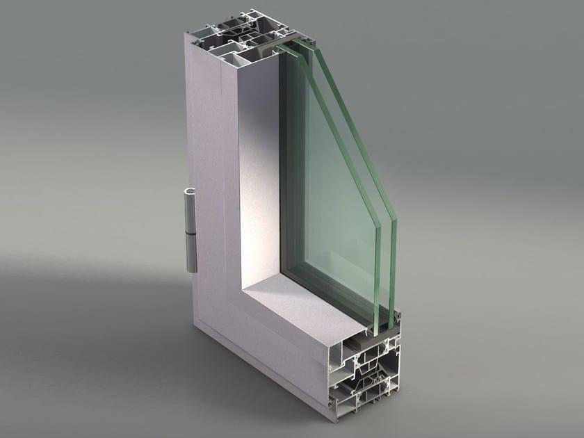 Aluminium casement window NC 75 STH by METRA