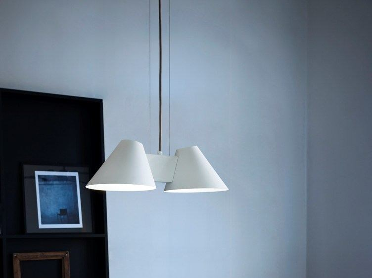 Direct light metal pendant lamp BILLY HL by Kalmar