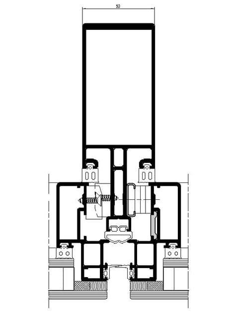 Sezione POLIEDRA-SKY 50 S