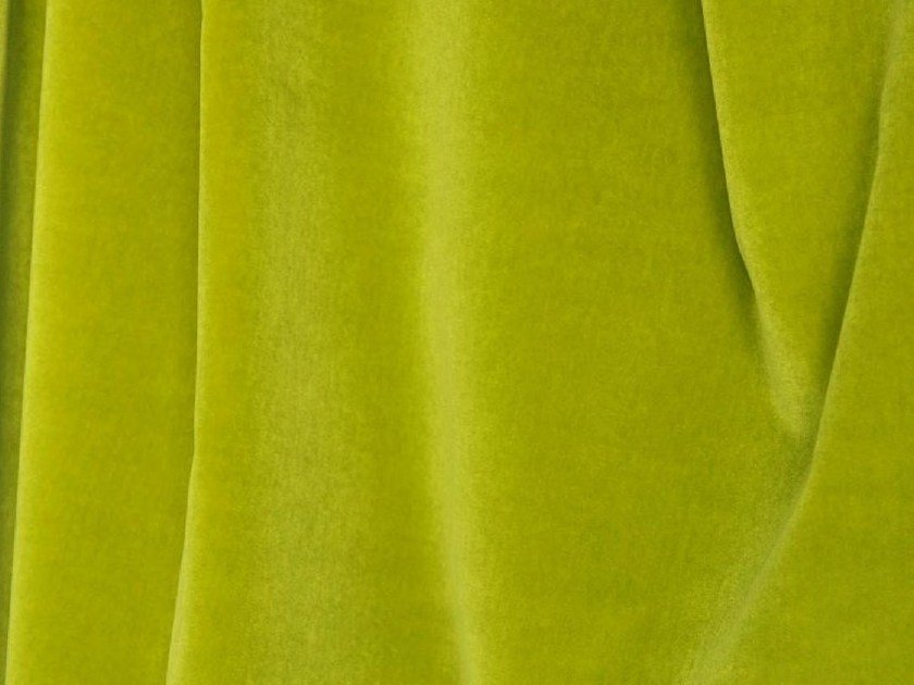 Solid-color washable cotton fabric COSMOS by LELIEVRE