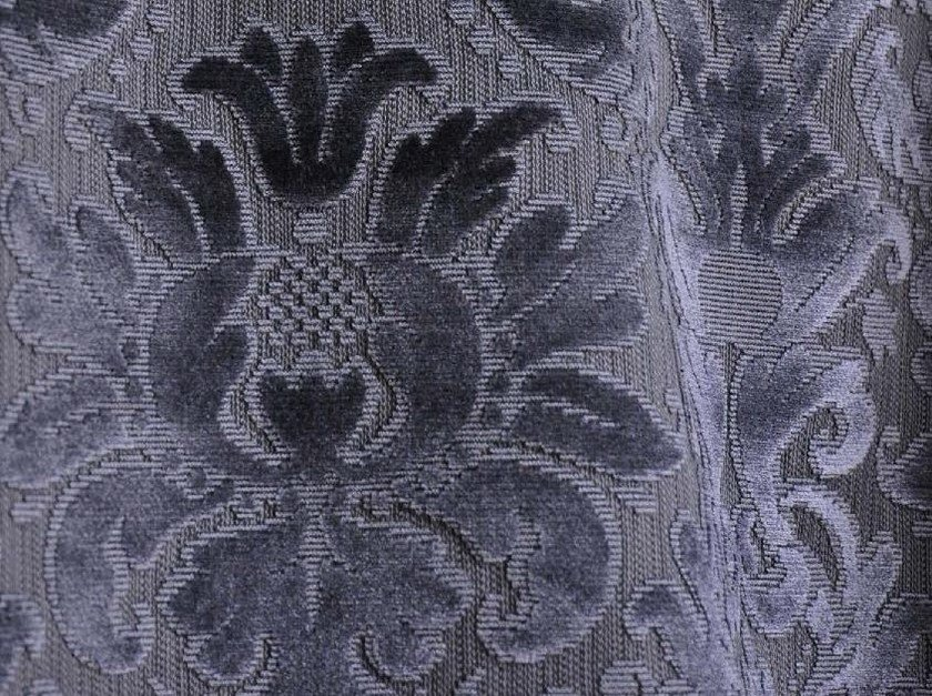 Viscose fabric with floral pattern CHAILLOT by LELIEVRE