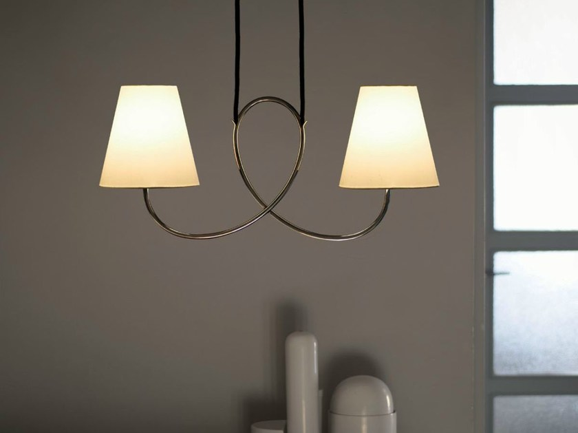 Direct light pendant lamp POSTHORN by Kalmar