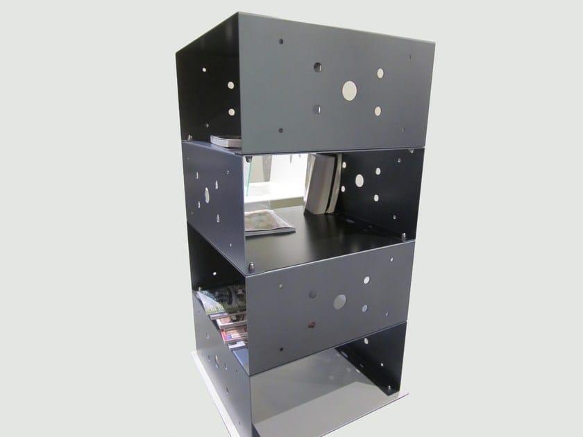 Open modular plate bookcase MODULAR CUBE | Plate bookcase by QUARTIERI LUIGI