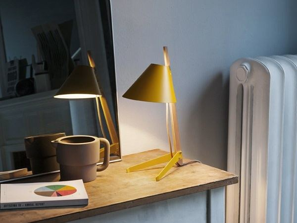 Design wooden table lamp BILLY TL by Kalmar