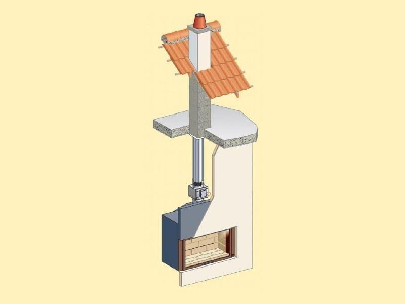 Air filtration device, purifier CATALIZZATORE ZERO CO by Ala Poujoulat