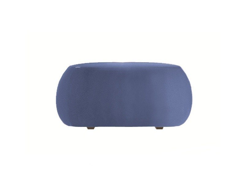 Upholstered pouf PIX 87 by arper