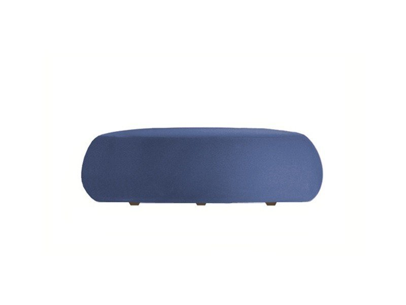 Upholstered pouf PIX 137 by arper