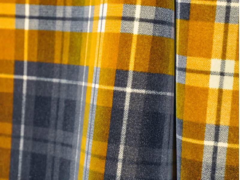 Tartan cotton fabric KILT by LELIEVRE