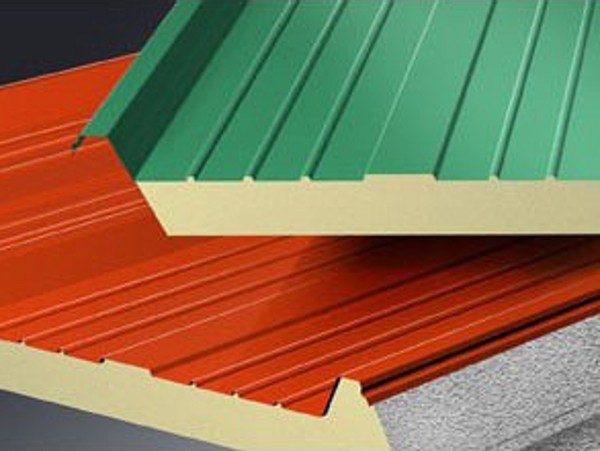 Insulated metal panel for roof ISOROOF 3G by Isometal