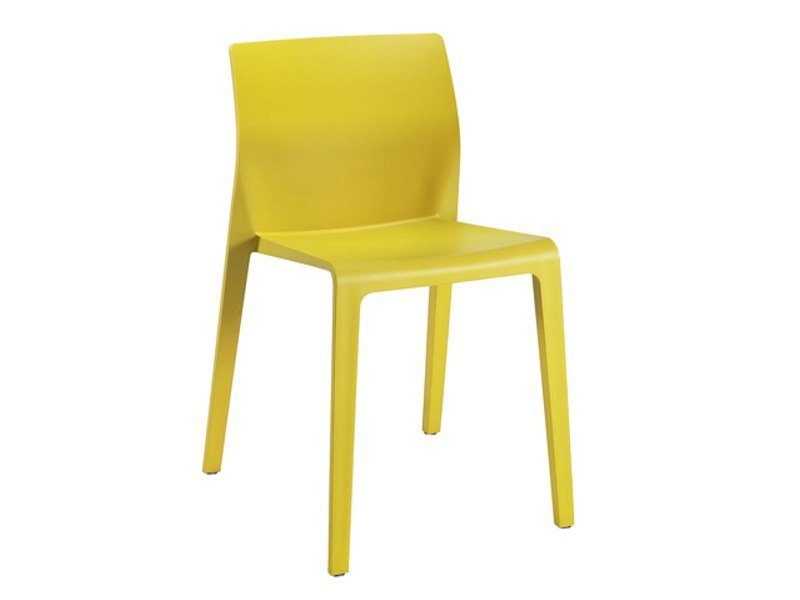 Stackable polypropylene chair JUNO | Polypropylene chair by arper