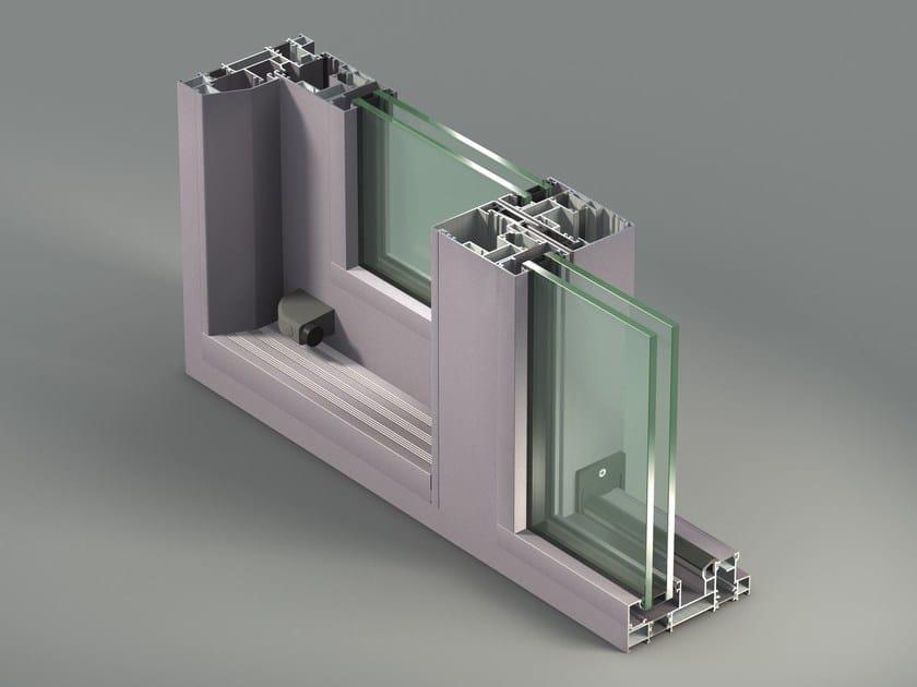 Aluminium thermal break window NC-S 150 STH by METRA