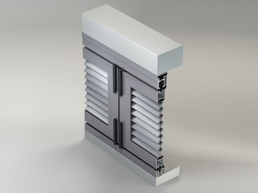 Shading Systems METRA Shutters FOLDING/SLIDING Line by METRA